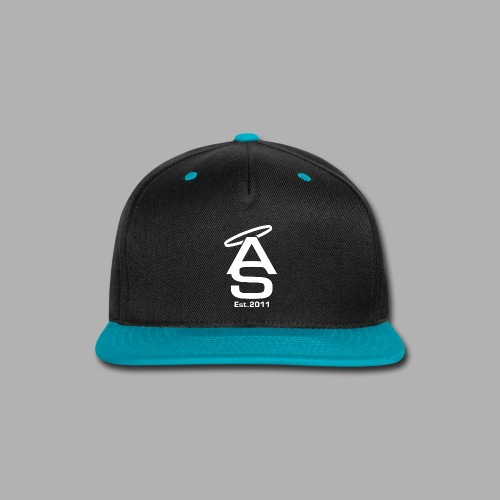 AS White - Snap-back Baseball Cap