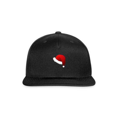 Carmaa Santa Hat Christmas Apparel - Snap-back Baseball Cap