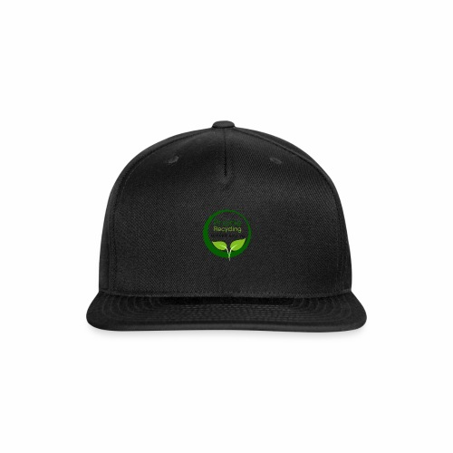 Prairie Recycling Official Logo - Snap-back Baseball Cap