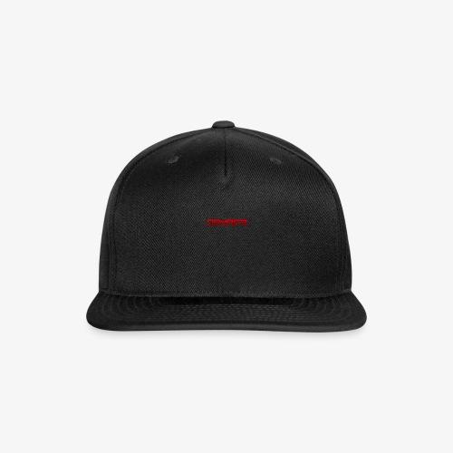 Damag3-tagline - Snap-back Baseball Cap