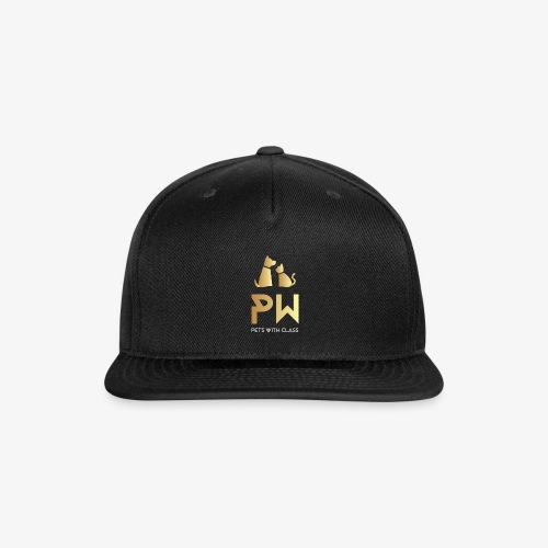 PW PETS WITH CLASS - Snap-back Baseball Cap