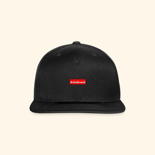 Artist Brand box logo - Snap-back Baseball Cap