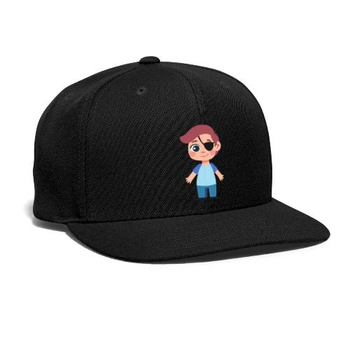 Boy with eye patch - Snapback Baseball Cap