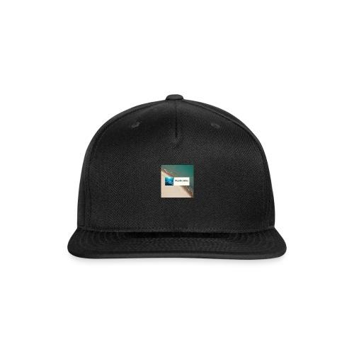 Plastic Kills Logo - Snap-back Baseball Cap