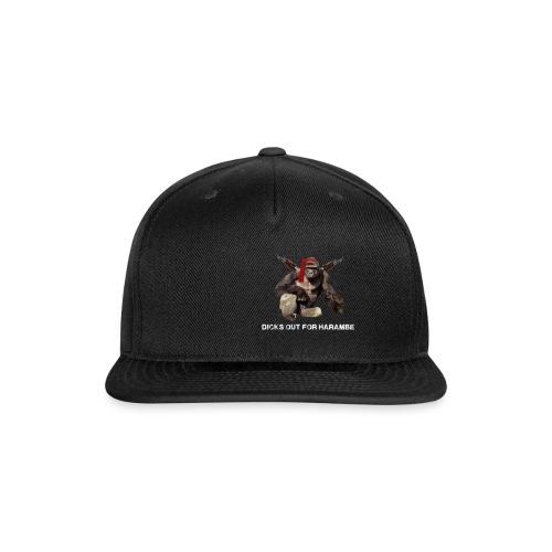 dicks out for harambe - Snap-back Baseball Cap