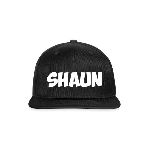 Shaun Logo Shirt - Snapback Baseball Cap