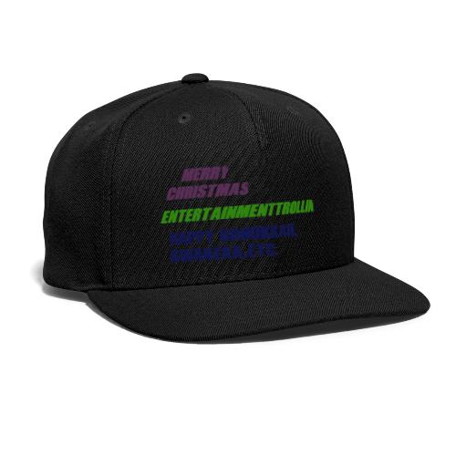 Holliday Merch - Snap-back Baseball Cap
