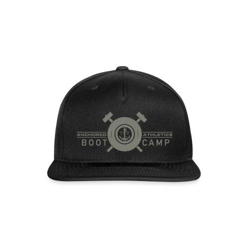 Anchored Bootcamp Green logo - Snapback Baseball Cap