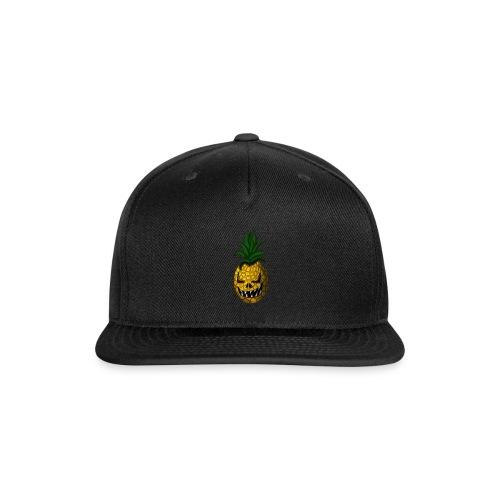 Creepy Halloween Pineapple - Snap-back Baseball Cap