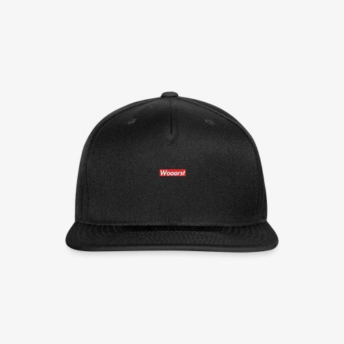 "The best ""worst"" - Snap-back Baseball Cap"
