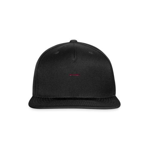 syphen text - Snap-back Baseball Cap