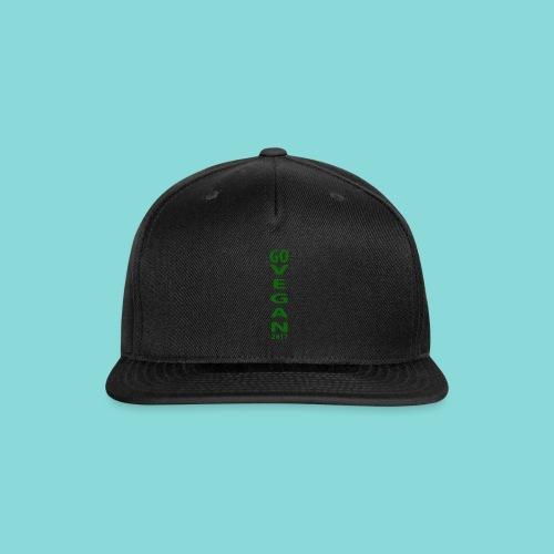 Go_Vegan_2017 - Snap-back Baseball Cap