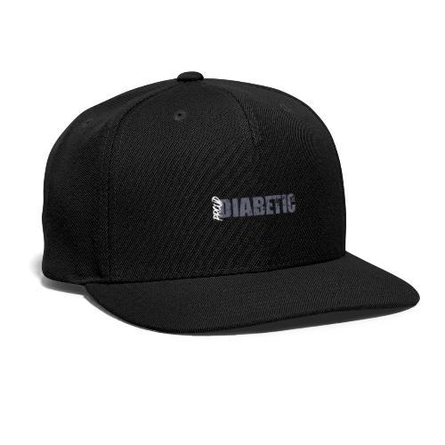 Proud Diabetic - Snap-back Baseball Cap