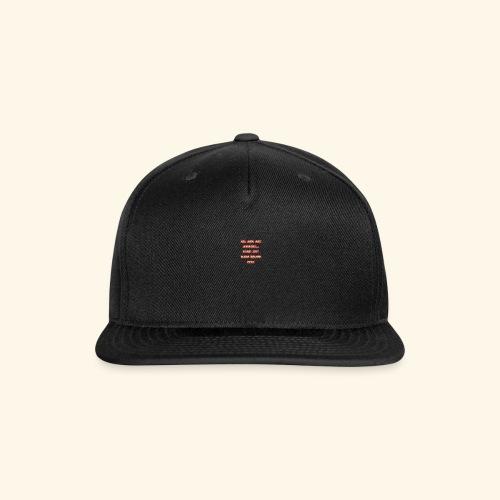 003 - Snap-back Baseball Cap