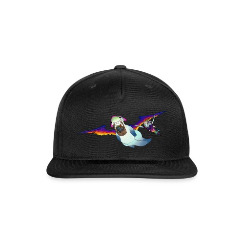 FLY WITH US - Snap-back Baseball Cap