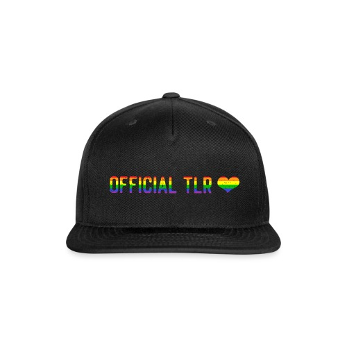 The Lesbian Romantic Merch - Pride Edition - Snap-back Baseball Cap