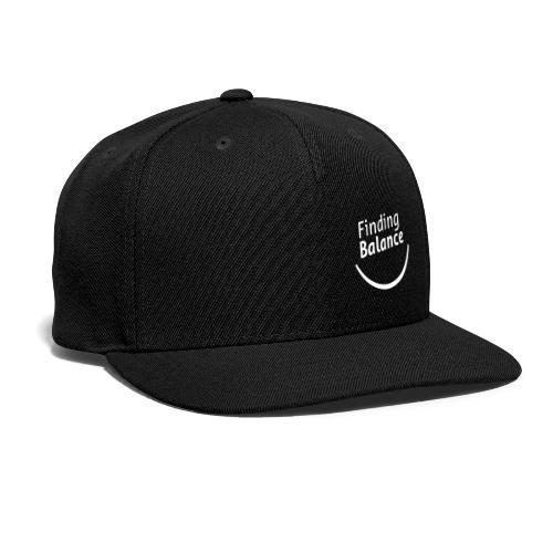 FB Logo White - Snapback Baseball Cap