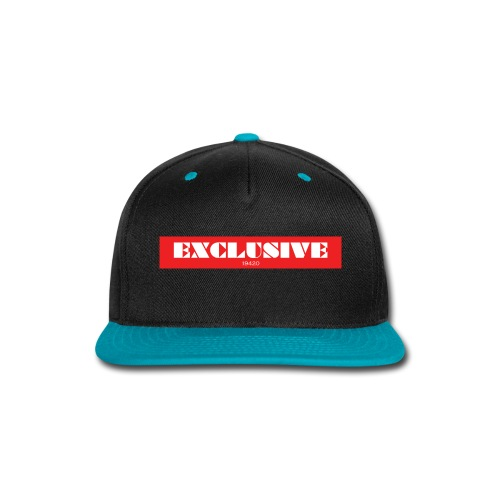 exclusive - Snap-back Baseball Cap