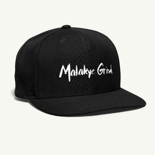 Malakye Grind Rock'n'Roll is Black Series - Snap-back Baseball Cap