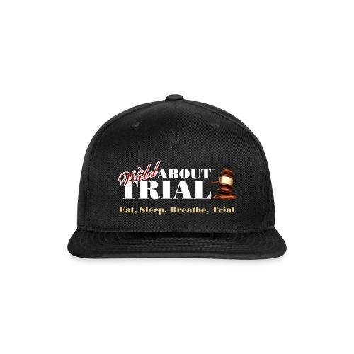 WAT - Eat, Sleep, Breathe, Trial - SALMON EDITION - Snap-back Baseball Cap