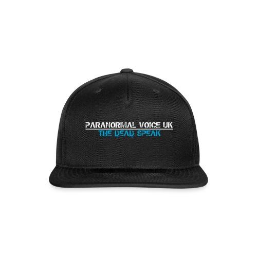 PARANORMAL VOICE UK +SIZE HOODY - Snap-back Baseball Cap