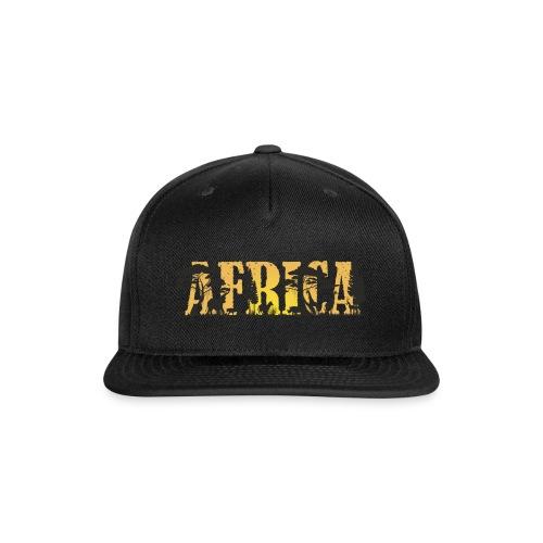 Africa, ANIMALS - Snap-back Baseball Cap