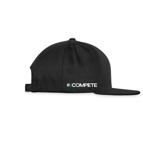 icompete_logo_final_outli - Snap-back Baseball Cap