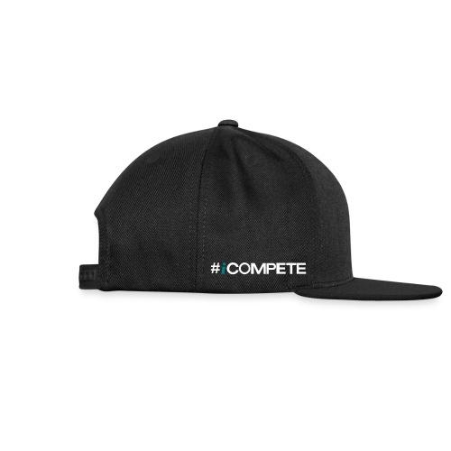 icompete_logo_final_outli - Snap-back Baseball Cap