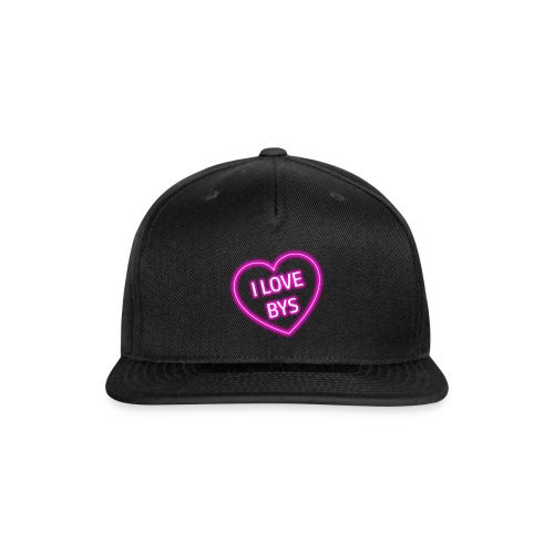 BYS Heart - Snapback Baseball Cap