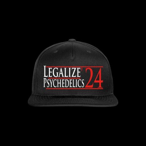 Legalize Psychedelics - Snapback Baseball Cap