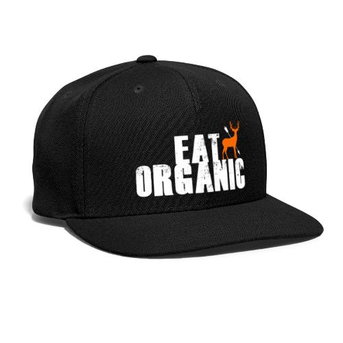 Eat Organic with the Big Buck Registry - Snapback Baseball Cap