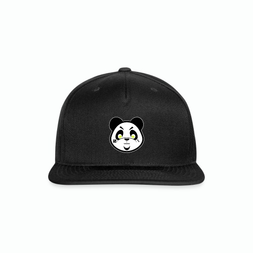 #XQZT Mascot - Focused PacBear - Snap-back Baseball Cap