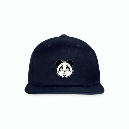 #XQZT Mascot - Focused PacBear - Snap-back Baseball Cap
