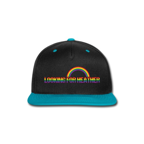 Looking For Heather Pride - Snap-back Baseball Cap