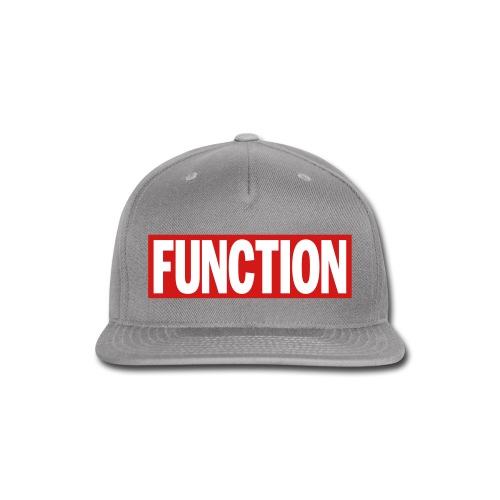 FUNCTION - Snap-back Baseball Cap