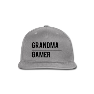 GrandmaGamer_Shirt - Snap-back Baseball Cap