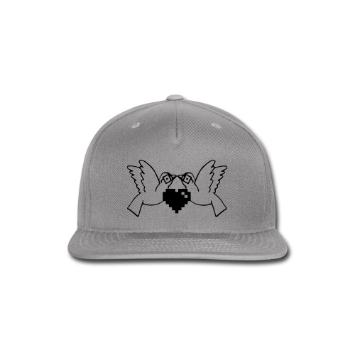 Love Nerds Gaming Blk/Wht - Snap-back Baseball Cap