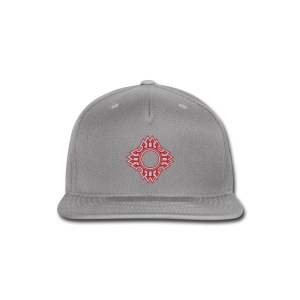New Mexico Zia Symbol Streetwear - Snap-back Baseball Cap