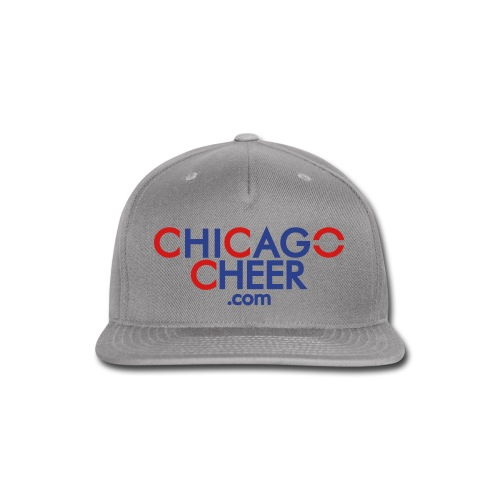 CHICAGO CHEER . COM - Snap-back Baseball Cap