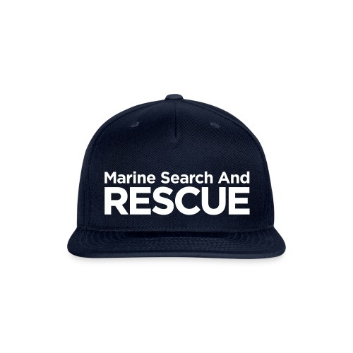 Marine Search and Rescue - Snapback Baseball Cap