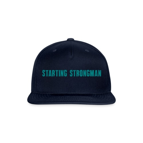 starting horiz - Snapback Baseball Cap