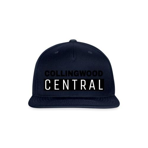 BLK Collingwood Central Logo - Snapback Baseball Cap