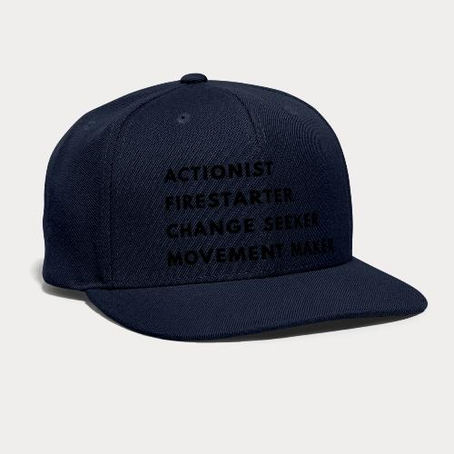 Change Seeker - Snapback Baseball Cap