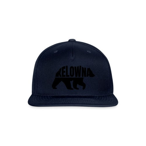 Kelowna Grizzly B&W - Snap-back Baseball Cap