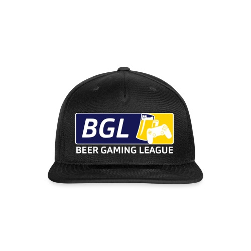 Mens Official Beer Gaming League Shirt - Snap-back Baseball Cap