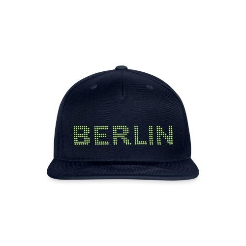 Berlin dots-font - Snapback Baseball Cap