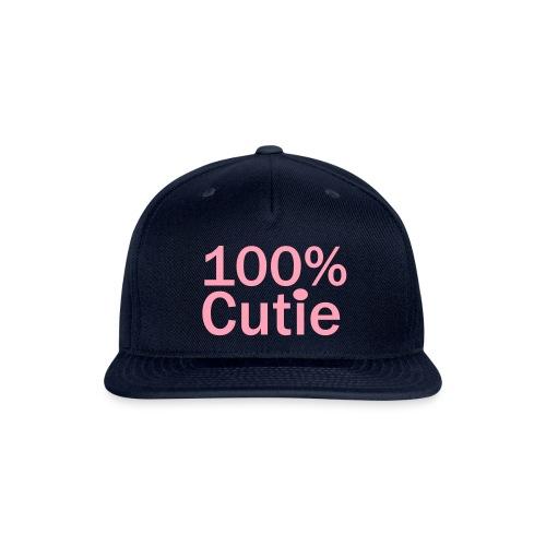 100cutie - Snapback Baseball Cap