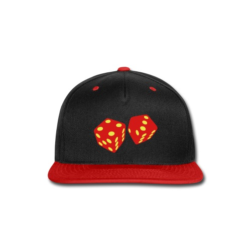 golden dice - Snap-back Baseball Cap