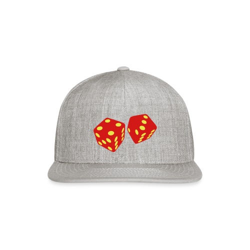 golden dice - Snap-back Baseball Cap