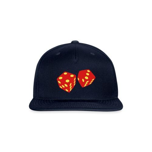 golden dice - Snapback Baseball Cap